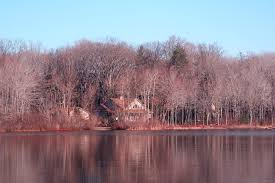 free photo michigan lake house lake winter free image on