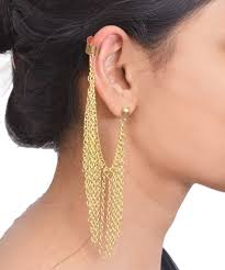 ear cuff online got my eye on you ear cuff gold