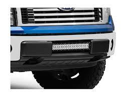 f150 bumper light bar rigid industries f 150 20 in e series or sr series light bar center