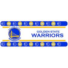 nba canonical nba golden state warriors wall border self stick