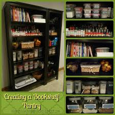 Storage Bookshelf Our Homemaking Story Creative Home Storage Bookshelf Pantry