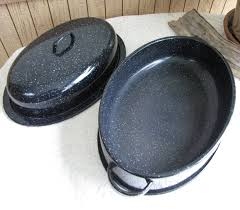 savory roasting pan vintage savory jr roaster cookware and ovenware black speckled