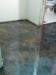 flooring redo with color epoxy hometalk