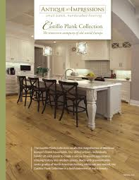 Antique Hickory Laminate Flooring Antique Impressions Castillo Plank Collection By Horner Millwork
