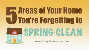 spring clean 5 areas you u0027re forgetting to spring clean today u0027s homeowner