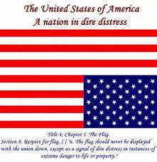 Flying The Flag Upside Down March On Veterans On Twitter