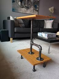 Industrial Rustic Coffee Table Hackin U0027 The Lack Into A Rustic Coffee Table Ikea Hackers