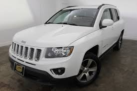 jeep crossover 2016 pre owned 2016 jeep compass high altitude edition sport utility in