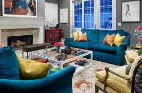 awesome blue outstanding blue velvet sofa houzz teal blue velvet