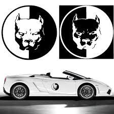 audi decals aliexpress com buy 12 12cm pitbull car motorcycle stickers 3d