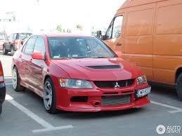 mitsubishi evo red mitsubishi lancer evolution ix 8 may 2015 autogespot