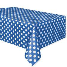 red white polka dot table covers amazon com red plastic polka dot table cover 54 x 108 kitchen