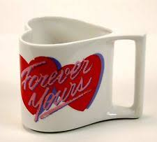 Heart Shaped Mugs Heart Shaped Mugs Ebay