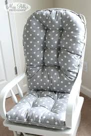 Nursery Rocking Chair Cushions Cushions For Rocking Chair Nursery Rocker And Gliders Ottoman Wood