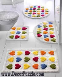 Bathroom Carpets Rugs New Bathroom Rug Sets Bath Mats 2015 Colorful Bathroom Rugs And