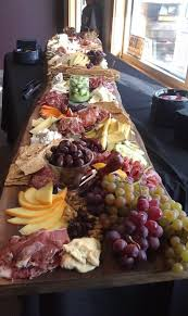 antipasto table omg this looks way too amazing maybe a long