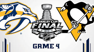 stanley cup final game four penguins vs preds