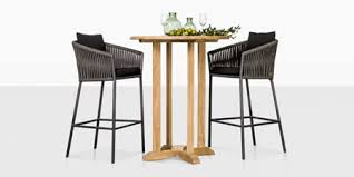 Outdoor Bar Table And Stools Teak Warehouse Teak Wicker And Outdoor Furniture