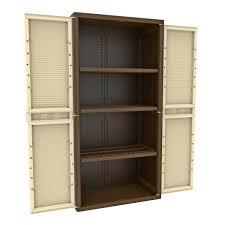 armadietti in pvc armadio in resina terry 2 ante tuttopiani xl 89 7x180x53 7 cm