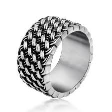 man cool rings images Retro cool weaved rings for men famous wedding jewelry buycoolprice jpg