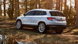 crossover cars 2017 picture skoda crossover 2017 karoq white cars 2048x1152
