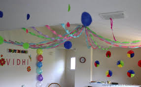 Birthday Decorations To Make At Home Simple Decoration Ideas For Birthday Party At Home Image