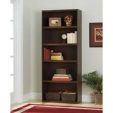 5 Shelf Bookcase Espresso Ameriwood 5 Shelf Bookcase Hayneedle