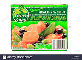 green giant steamers healthy weight frozen vegetables stock photo