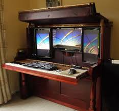 High Tech Desk Normal Looking Piano Conceals A High Tech Secret Techeblog