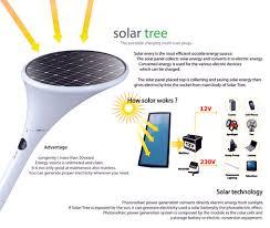 solar trees are charging on the go made not so portable slashgear