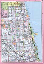 Chicago City Map by City Of Chicago