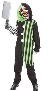 killer clown costume clown child costume kids costumes