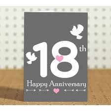 18th anniversary gift 18th wedding anniversary gift for parents