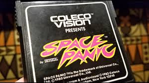 classic game room space panic review for colecovision youtube