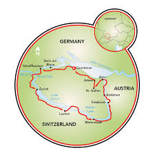 Konstanz Germany Map by Four Country Tour Bike Tour Switzerland Liechtenstein