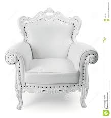 white chair stock image image of victorian isolated 16073921