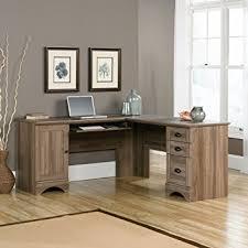 Oak Corner Computer Desk With Hutch Amazon Com Sauder 417586 Harbor View Corner Computer Desk A2