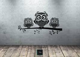 owl wall decal owl on branch decal owl decor owl nursery owl wall decal owl on branch decal owl decor owl nursery wall art baby room tree mural decal owl vinyl wall decals owl sticker