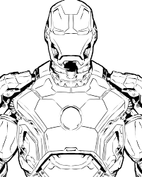 download coloring pages ironman pages with iron man mark 42 eson me