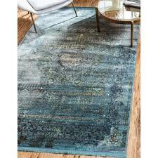 grey and teal area rug wayfair