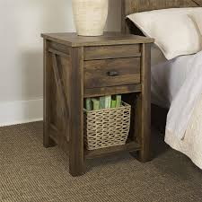 furniture organize your bedroom with retro bedside table walmart