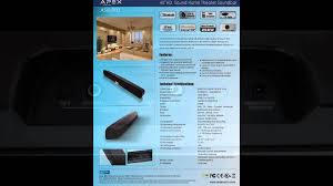 home theater systems with bluetooth apex asb 900 40