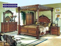 Wood Canopy Bed Frame Wooden King Sized Bed Ibbcclub Wood Canopy Beds Wooden King Sized