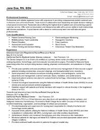 Charge Nurse Resume Sample Resume For Company Nurse Without Experience Augustais
