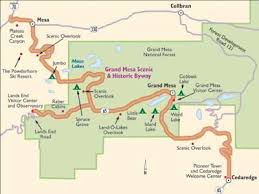wisconsin scenic drives map colorado scenic drive grand mesa scenic byway howstuffworks