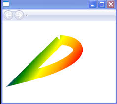 use rgb valued semi transparent color to paint ellipse color