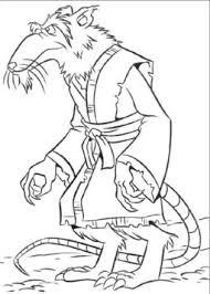 print u0026 download coach ninja turtles coloring pages