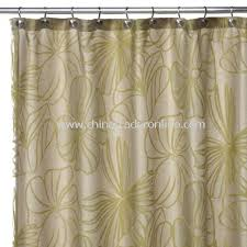 wholesale palm green sheer fabric shower curtain buy discount palm