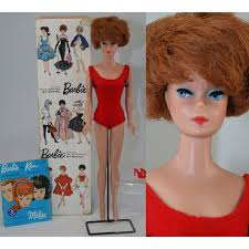bubble cut hair style my favourite doll bubble cut redhead barbie with box