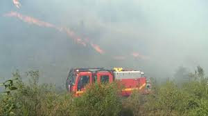 Canadian Wildland Fire Training by Forest Fire In Southern Spain Hits Donana National Park Spain